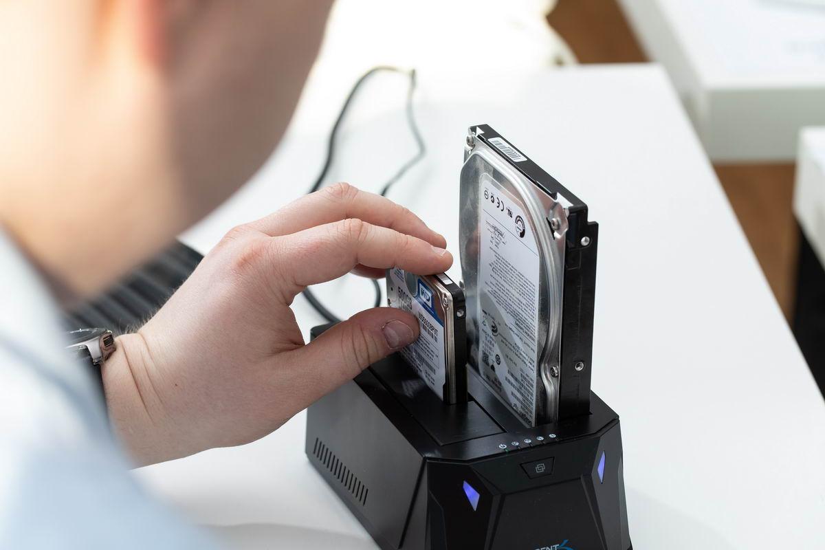 Computer Festplatte Sichern und Übertragen